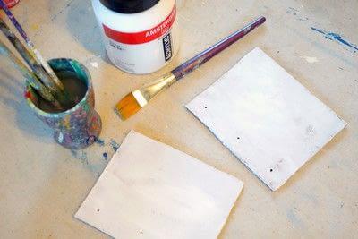 How to make a notebook journal. Mini Cardboard Notebook - Step 2