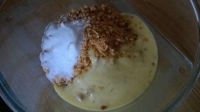 How to bake a cheesecake. Key Lime Cheesecake  - Step 1