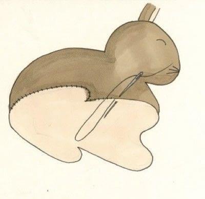 How to make rabbit plushie. Decorative Rabbits - Step 7