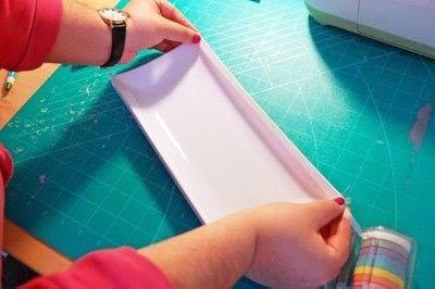How to make a tray. Diy This Kate Spade Inspired Snail Mail Tray For The Perfect Hostess Gift! - Step 1