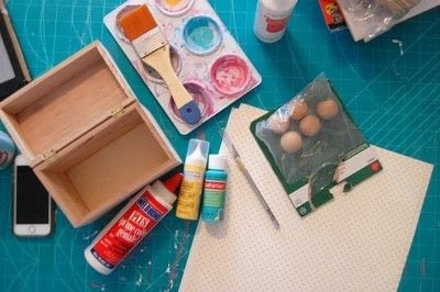 How to make a recipe holder. Make This Diy Recipe Box For A Simple Hostess Gift! - Step 1
