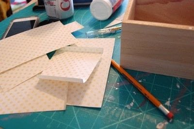 How to make a recipe holder. Make This Diy Recipe Box For A Simple Hostess Gift! - Step 2