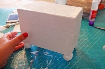 How to make a recipe holder. Make This Diy Recipe Box For A Simple Hostess Gift! - Step 4