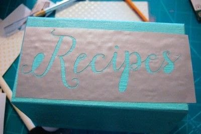 How to make a recipe holder. Make This Diy Recipe Box For A Simple Hostess Gift! - Step 5