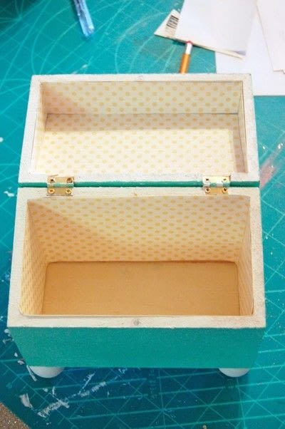How to make a recipe holder. Make This Diy Recipe Box For A Simple Hostess Gift! - Step 7