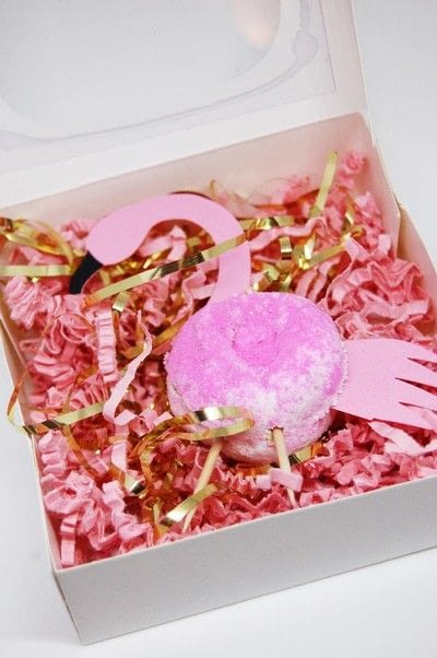 How to bake a donut. Make Someone Feel Special With This Flamingo Donut Favour! - Step 2