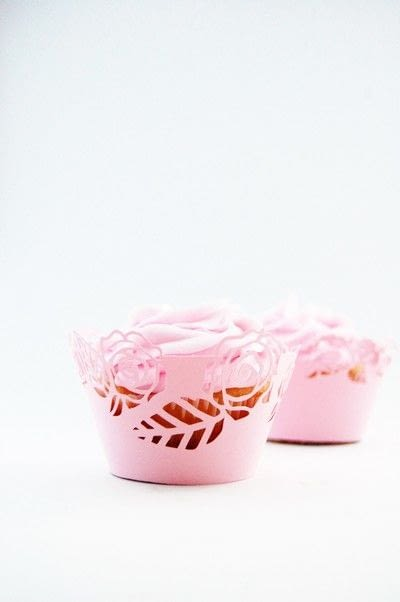 How to make a kitchen project / dining project. Make These Sweet Rose Cupcake Wrappers! - Step 1