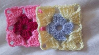 How to crochet a granny square. How To Join With A Double Crochet - Step 1