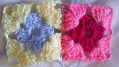 How to crochet a granny square. How To Join With A Double Crochet - Step 7
