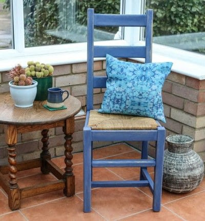 How to make a chair. Furniture Upcycling Project   Distressed Paint Effect - Step 6
