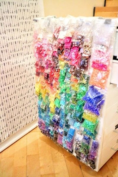 How to make a craft organizers. Bead Gallery - Step 10