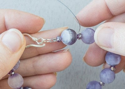 How to make jewelry. How To Use Crimp Tubes Tutorial - Step 13