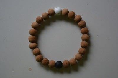How to bead a wooden bead bracelet. Lokai Inspired Bracelet - Step 4