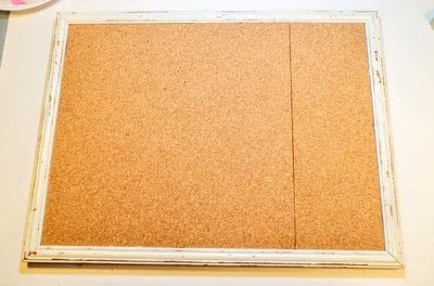 How to make a corkboard. Button Gallery - Step 1