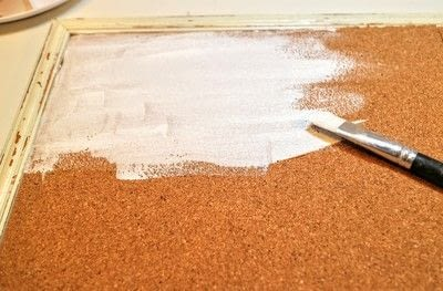 How to make a corkboard. Button Gallery - Step 2
