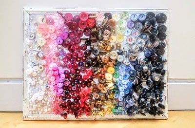 How to make a corkboard. Button Gallery - Step 7