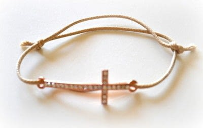 How to make a bracelet. Baptism Favors (bracelets) Diy! - Step 3