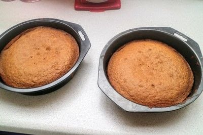 How to bake a coffee cake. Coffee Cake - Step 7