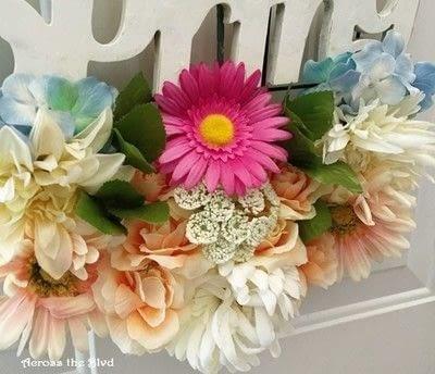 "How to make a wreath. Spring Garden ""Wreath""  - Step 5"