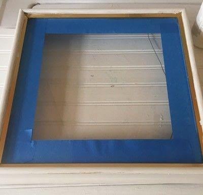 How to make a shadow box. Coastal Shadow Box - Step 3