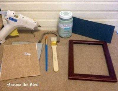 How to make a frame / photo holder. Quick Change Photo Frames - Step 1