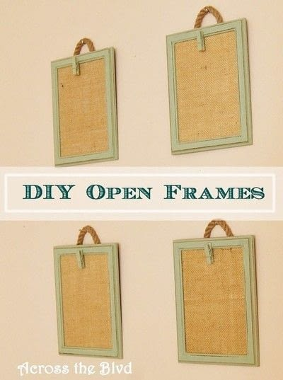 How to make a frame / photo holder. Quick Change Photo Frames - Step 8