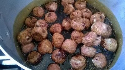 How to cook a meatball. Pork Teriyaki Meatballs  - Step 3