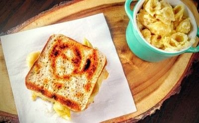 How to grill a sandwich. Mac N Cheese Grilled Cheese - Step 11
