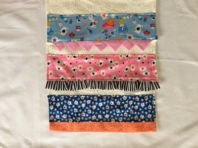 How to make a towel. Decorated Hand Towel - Step 1