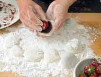 How to bake a mochi. Mochi Dumplings With Strawberries And Red Bean Paste - Step 8