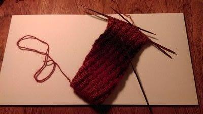 How to make a sock. Spiral Socks - Step 3