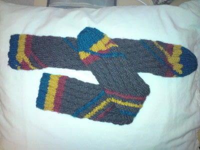 How to make a sock. Spiral Socks - Step 5