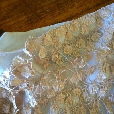 How to sew a lace top. Turn A Plain White Top Into A Lacy Showstopper - Step 2