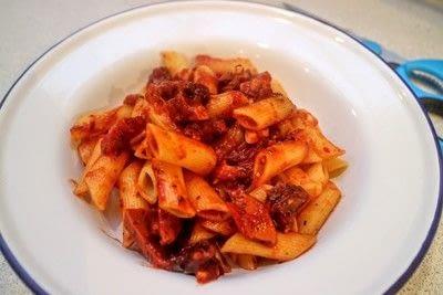 How to cook pasta. Chorizo Penne Arrabbiata - Step 8