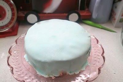 How to bake a cake. Aurora Cloud Cake - Step 3