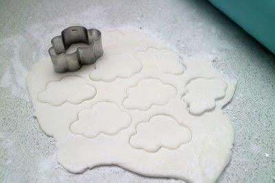 How to bake a cake. Aurora Cloud Cake - Step 8