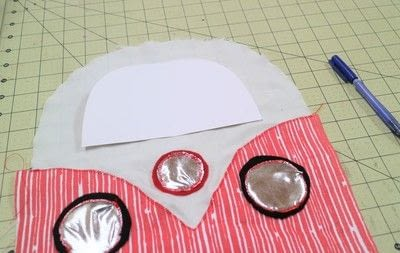 How to make a pet accessory. Campervan Cat Carrier - Step 20
