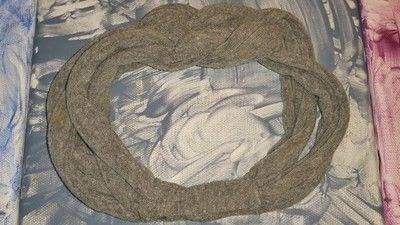 How to make a recycled headband. DIY T-Shirt Headband - Step 8