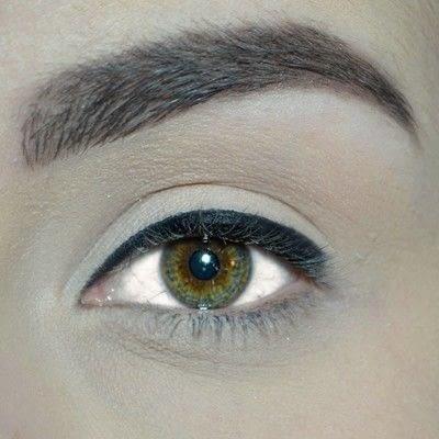 How to create a winged eye look. Winged Eyeliner Tutorial - Step 1
