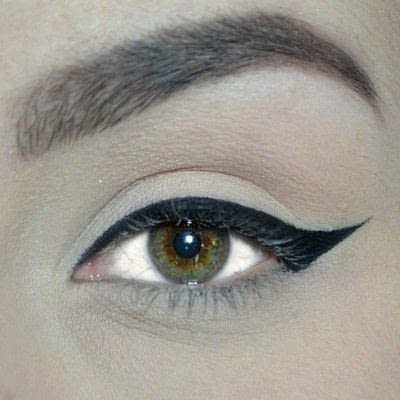 How to create a winged eye look. Winged Eyeliner Tutorial - Step 4