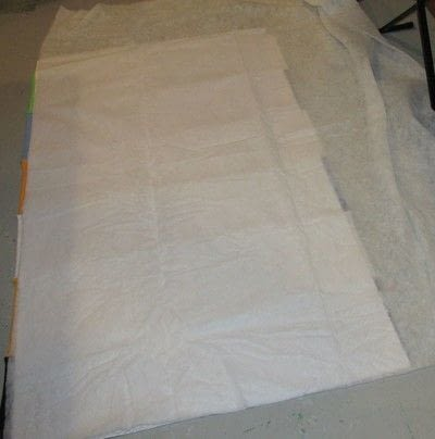 How to recycle a t-shirt quilt. How To Make A T Shirt Quilt - Step 9