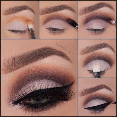 glamorous cut crease · how to create a cut crease eye