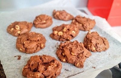 How to bake a chocolate chip cookie. Peanut Butter Chip Cookies - Step 7