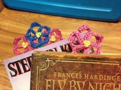 How to crochet a bookmark. Crochet Flower Bookmark - Step 11