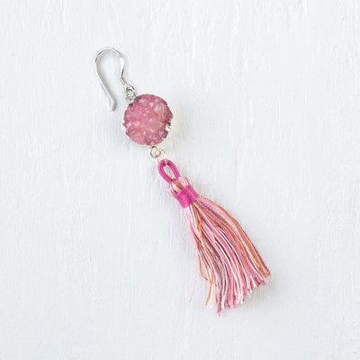 How to make a dangle earring. Simple Drop Earring - Step 5