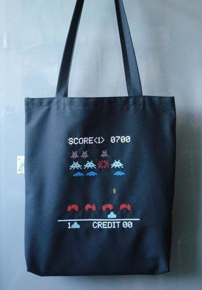 How to make a tote bag. Stitch Invaders Tote - Step 5
