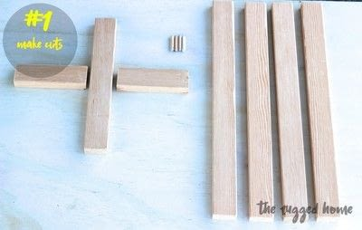 How to make a vase, pot or planter. West Elm Inspired Plant Stand  - Step 1