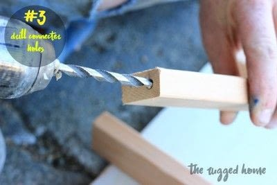 How to make a vase, pot or planter. West Elm Inspired Plant Stand  - Step 3