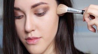How to create a natural eye makeup. Cara Delevigne Natural Bronze Makeup Tutorial  - Step 7
