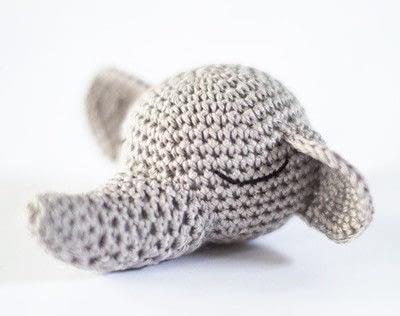 How to make an elephant plushie. Elephant Snuggle - Step 5